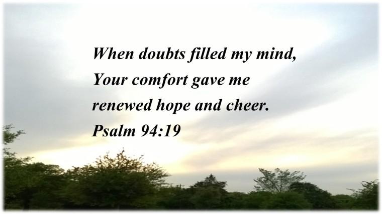 Psalm 94 v 19